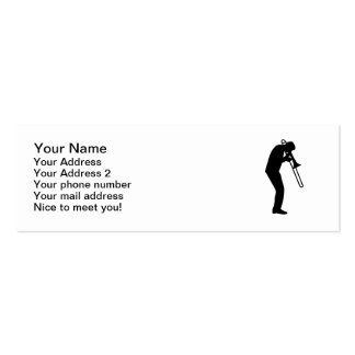 Trombone Player Business Cards