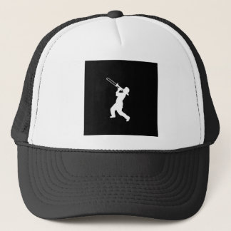 """Trombone Player"" design gifts and products Trucker Hat"