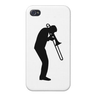 Trombone Player Covers For iPhone 4