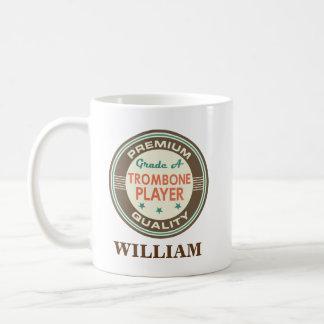 Trombone Player Personalized Office Mug Gift