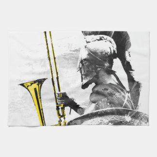 Trombone Warrior Kitchen Towels