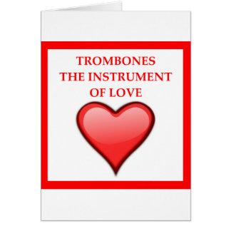 TROMBONES CARD