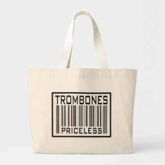 Trombones Priceless Jumbo Tote Bag