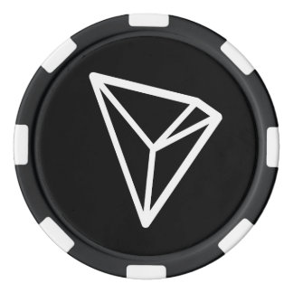 TRON TRX Logo Poker Chips