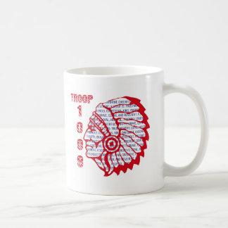 TROOP 1009 Cup Classic White Coffee Mug