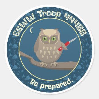 Troop 44488 stickers