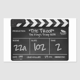 TROOP FILM high quality stickers x4