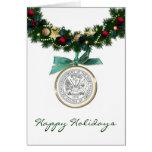 Troop Holidays Greeting Card