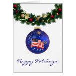 Troop Holidays Greeting Cards