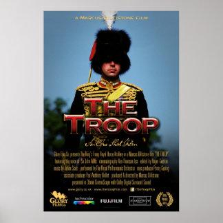 "Troop Officer 'single-sheet' movie poster 27""x40"""
