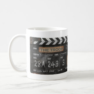 Troop Vintage Clapperboard Mug with your name
