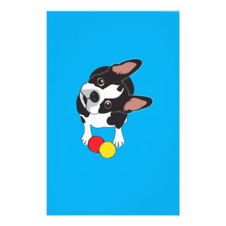 Trooper the Boston Terrier Stationery