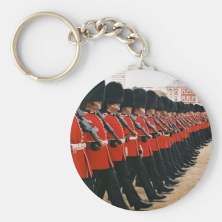 Trooping the Colour 2010 Basic Round Button Key Ring