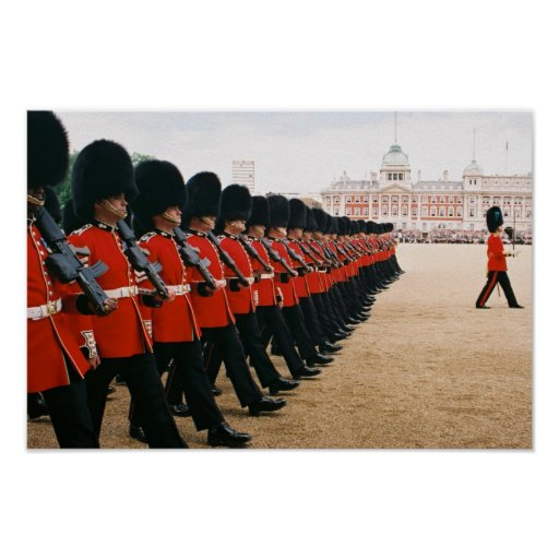 Trooping the Colour 2010 Posters