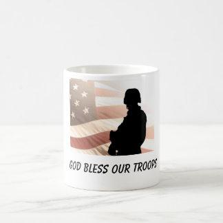 Troops Basic White Mug