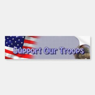 Troops Bumper Sticker