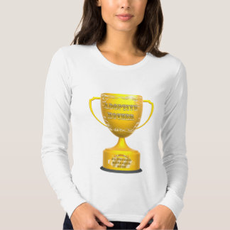 Trophy Adoptive Mother Mothers Day Gifts T-shirts