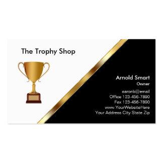 Trophy Awards Business Cards