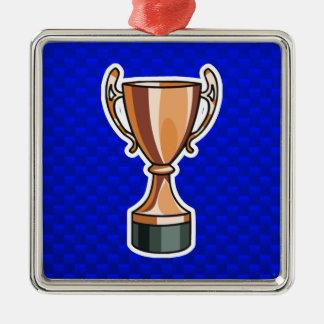 Trophy; Blue Ornaments