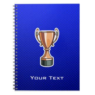 Trophy; Blue Notebook