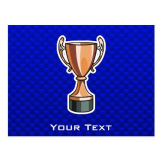 Trophy; Blue Post Cards