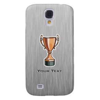 Trophy; Brushed Metal-look Galaxy S4 Covers