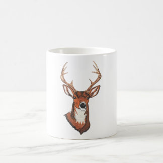 Trophy Buck Rack Mount Basic White Mug