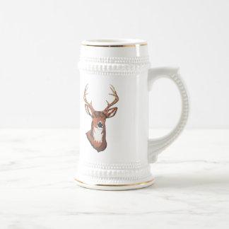 Trophy Buck Rack Mount Coffee Mugs