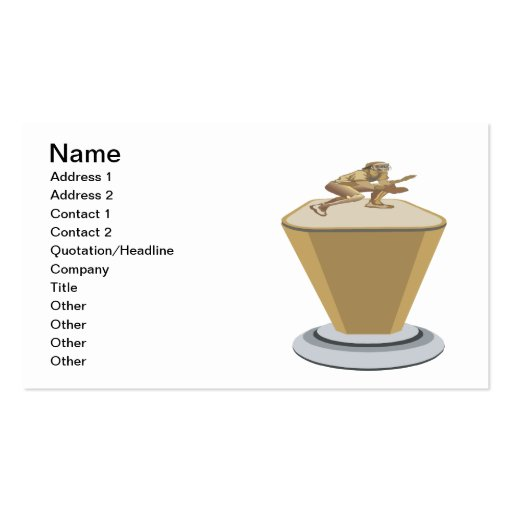 Trophy Business Card Template