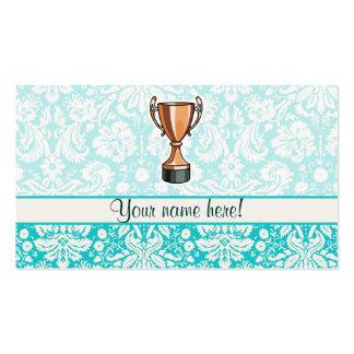 Trophy; Cute Business Card Template