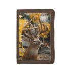 Trophy Deer Tri-fold Wallet