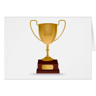 Trophy Drawing Card