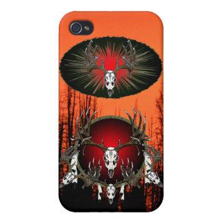 Trophy European deer skulls iPhone 4/4S Case