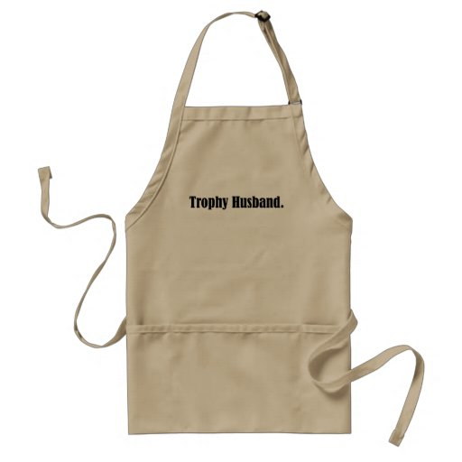 Trophy Husband Funny Father's Day Gift! Aprons