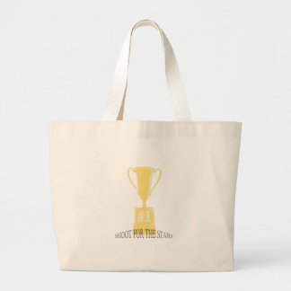 Trophy Shoot For The Stars Tote Bag