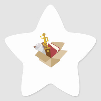 Trophy Star Stickers
