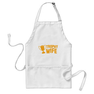 TROPHY wife Aprons