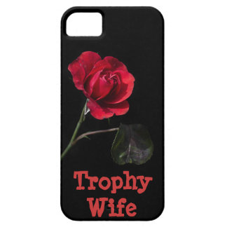 Trophy Wife Rose iPhone 5 Case