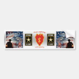 Tropic Lightning - 25th Infantry Bumper Sticker