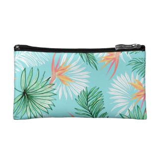Tropic Palm Cosmetic Bag