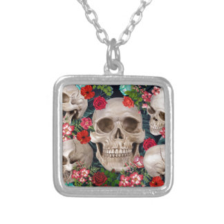 tropic scerry silver plated necklace