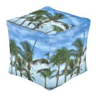 Tropical Afternoon CPS Pouf