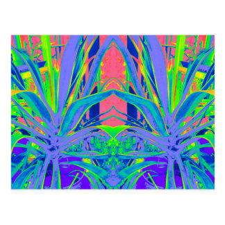 Tropical Agave Modern art Gifts Postcard
