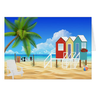 Tropical All Occasion Notecards Card
