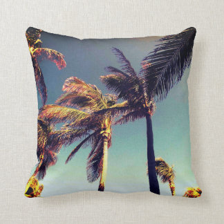 Tropical And Palm Trees Cushion