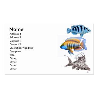 Tropical Aquarium Fish Business Card