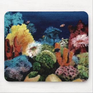 Tropical Aquarium Mouse Pad