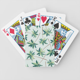 Tropical Australian Foxtail Palm Bicycle Playing Cards