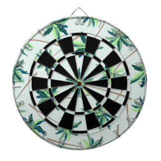 Tropical Australian foxtail palm Dartboard