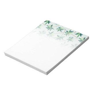 Tropical Australian foxtail palm Notepad